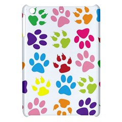 Paw Print Paw Prints Background Apple Ipad Mini Hardshell Case