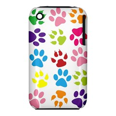 Paw Print Paw Prints Background Iphone 3s/3gs