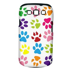 Paw Print Paw Prints Background Samsung Galaxy S Iii Classic Hardshell Case (pc+silicone)
