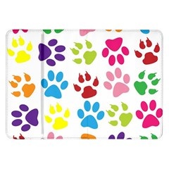 Paw Print Paw Prints Background Samsung Galaxy Tab 8 9  P7300 Flip Case