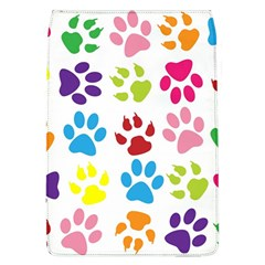 Paw Print Paw Prints Background Flap Covers (l)