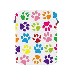 Paw Print Paw Prints Background Apple Ipad 2/3/4 Protective Soft Cases