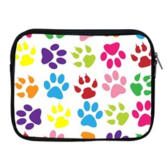 Paw Print Paw Prints Background Apple Ipad 2/3/4 Zipper Cases