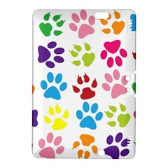 Paw Print Paw Prints Background Kindle Fire Hdx 8 9  Hardshell Case