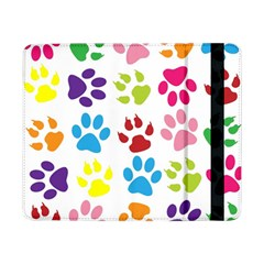 Paw Print Paw Prints Background Samsung Galaxy Tab Pro 8 4  Flip Case