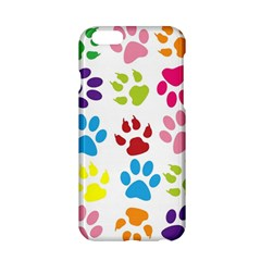 Paw Print Paw Prints Background Apple Iphone 6/6s Hardshell Case