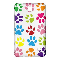 Paw Print Paw Prints Background Samsung Galaxy Tab 4 (8 ) Hardshell Case