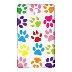 Paw Print Paw Prints Background Samsung Galaxy Tab S (8 4 ) Hardshell Case