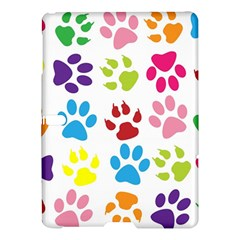 Paw Print Paw Prints Background Samsung Galaxy Tab S (10 5 ) Hardshell Case