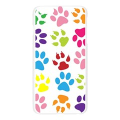 Paw Print Paw Prints Background Apple Seamless iPhone 6 Plus/6S Plus Case (Transparent)