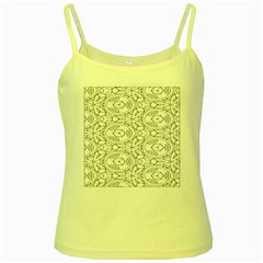 Pattern Silly Coloring Page Cool Yellow Spaghetti Tank