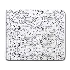 Pattern Silly Coloring Page Cool Large Mousepads