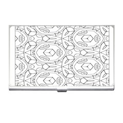 Pattern Silly Coloring Page Cool Business Card Holders