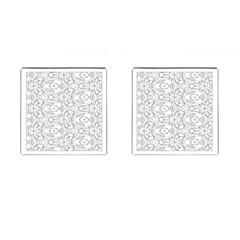 Pattern Silly Coloring Page Cool Cufflinks (square)