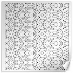 Pattern Silly Coloring Page Cool Canvas 16  x 16