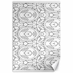 Pattern Silly Coloring Page Cool Canvas 24  X 36