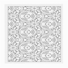 Pattern Silly Coloring Page Cool Medium Glasses Cloth (2 Side)