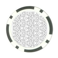 Pattern Silly Coloring Page Cool Poker Chip Card Guard