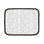 Pattern Silly Coloring Page Cool Netbook Case (Small)  Front