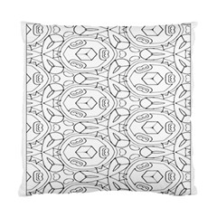 Pattern Silly Coloring Page Cool Standard Cushion Case (one Side)