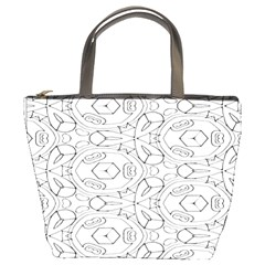 Pattern Silly Coloring Page Cool Bucket Bags