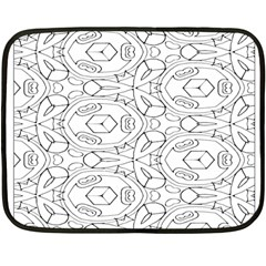 Pattern Silly Coloring Page Cool Double Sided Fleece Blanket (Mini)