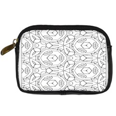 Pattern Silly Coloring Page Cool Digital Camera Cases