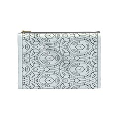 Pattern Silly Coloring Page Cool Cosmetic Bag (medium)