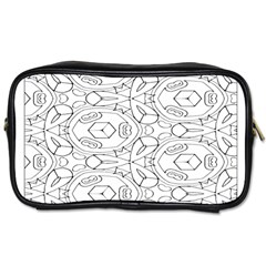 Pattern Silly Coloring Page Cool Toiletries Bags 2 Side