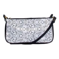 Pattern Silly Coloring Page Cool Shoulder Clutch Bags
