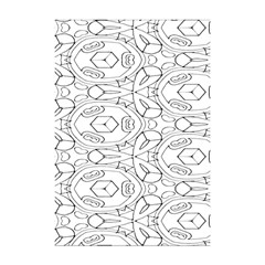 Pattern Silly Coloring Page Cool Shower Curtain 48  X 72  (small)