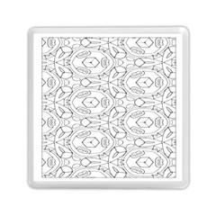 Pattern Silly Coloring Page Cool Memory Card Reader (square)