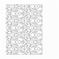 Pattern Silly Coloring Page Cool Small Garden Flag (two Sides)