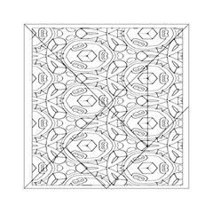 Pattern Silly Coloring Page Cool Acrylic Tangram Puzzle (6  X 6 )