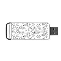 Pattern Silly Coloring Page Cool Portable Usb Flash (one Side)