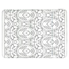 Pattern Silly Coloring Page Cool Samsung Galaxy Tab 7  P1000 Flip Case