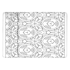 Pattern Silly Coloring Page Cool Samsung Galaxy Tab 10 1  P7500 Flip Case