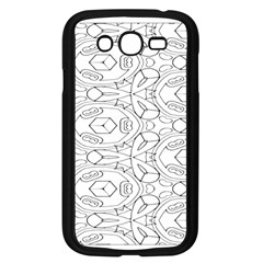 Pattern Silly Coloring Page Cool Samsung Galaxy Grand Duos I9082 Case (black)