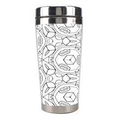 Pattern Silly Coloring Page Cool Stainless Steel Travel Tumblers