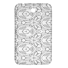 Pattern Silly Coloring Page Cool Samsung Galaxy Tab 3 (7 ) P3200 Hardshell Case