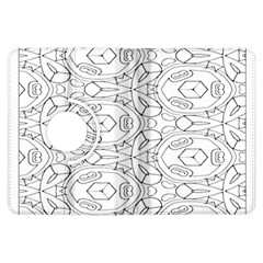 Pattern Silly Coloring Page Cool Kindle Fire HDX Flip 360 Case