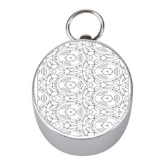 Pattern Silly Coloring Page Cool Mini Silver Compasses