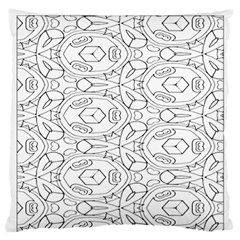 Pattern Silly Coloring Page Cool Standard Flano Cushion Case (two Sides)