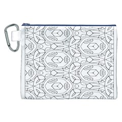 Pattern Silly Coloring Page Cool Canvas Cosmetic Bag (xxl)