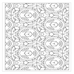 Pattern Silly Coloring Page Cool Large Satin Scarf (square)