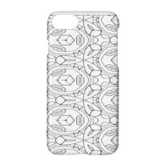Pattern Silly Coloring Page Cool Apple Iphone 7 Hardshell Case