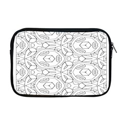 Pattern Silly Coloring Page Cool Apple Macbook Pro 17  Zipper Case