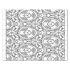 Pattern Silly Coloring Page Cool Rectangular Jigsaw Puzzl