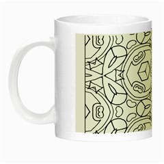 Pattern Silly Coloring Page Cool Night Luminous Mugs