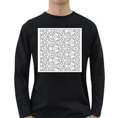 Pattern Silly Coloring Page Cool Long Sleeve Dark T Shirts